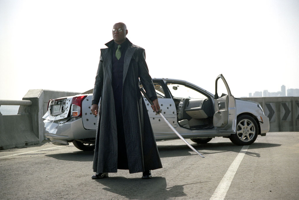 Movies Wallpaper: Morpheus - Matrix Reloaded