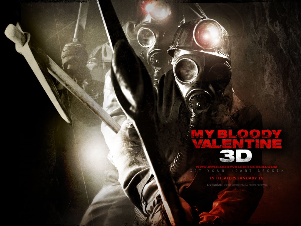 Movies Wallpaper: My Bloody Valentine 3D