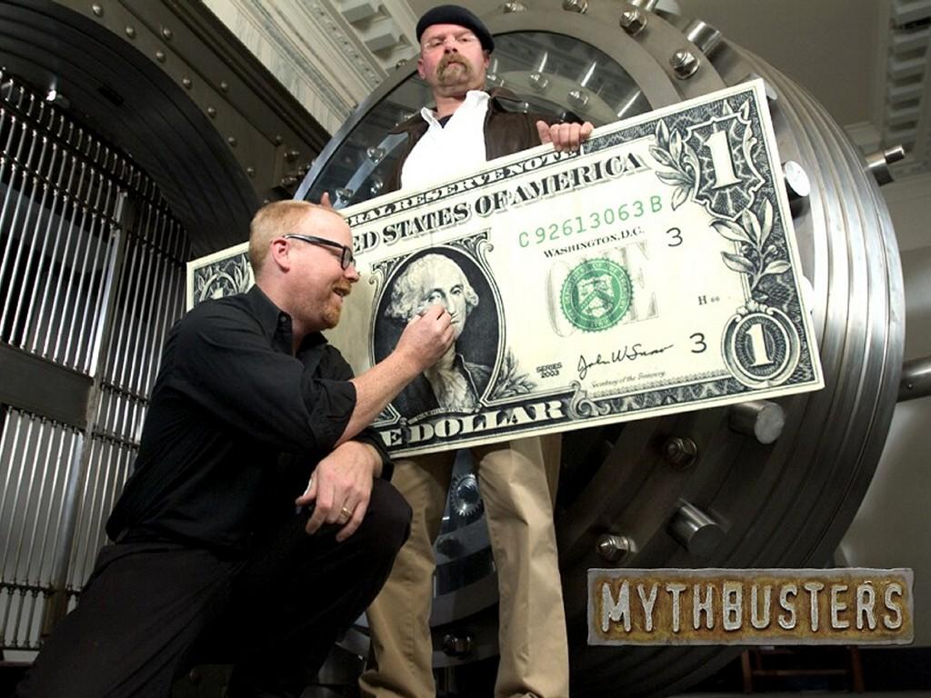Movies Wallpaper: Mythbusters