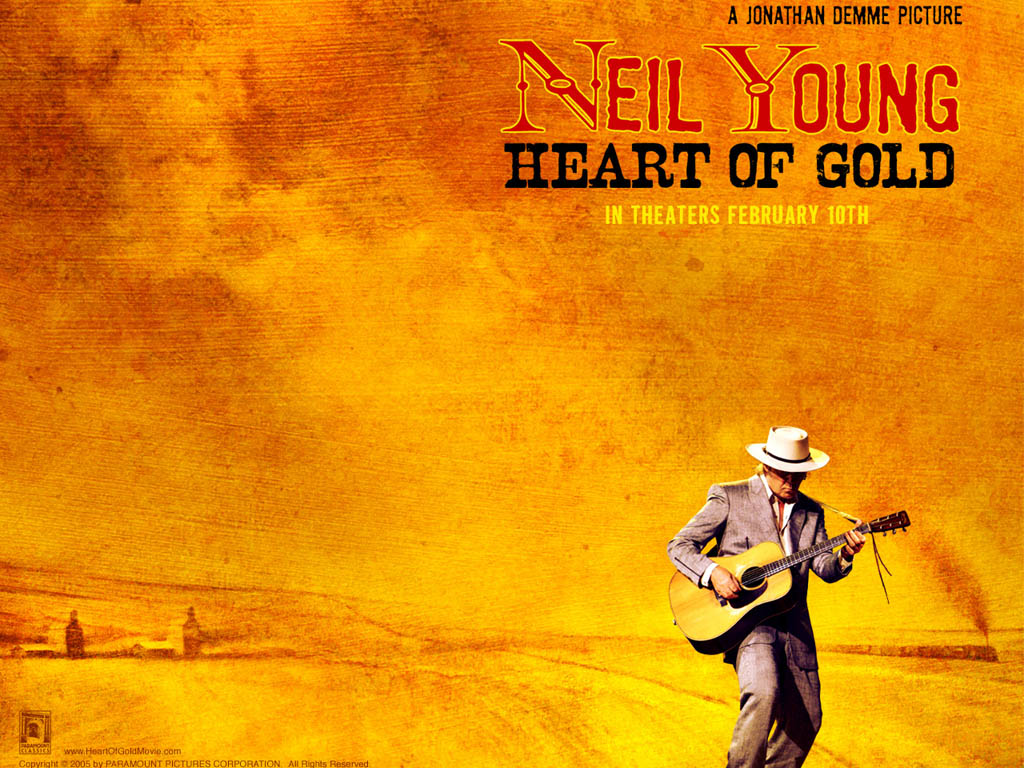 Movies Wallpaper: Neil Young - Heart of Gold
