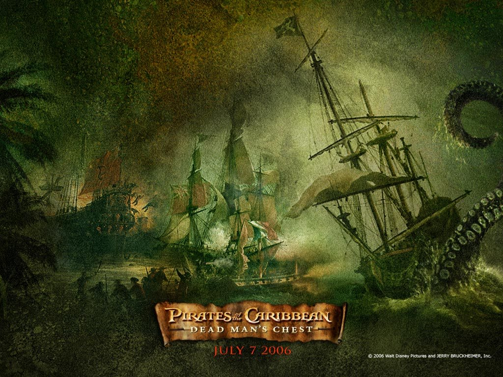 Movies Wallpaper: Pirates of the Caribbean - Dead Man's Chest
