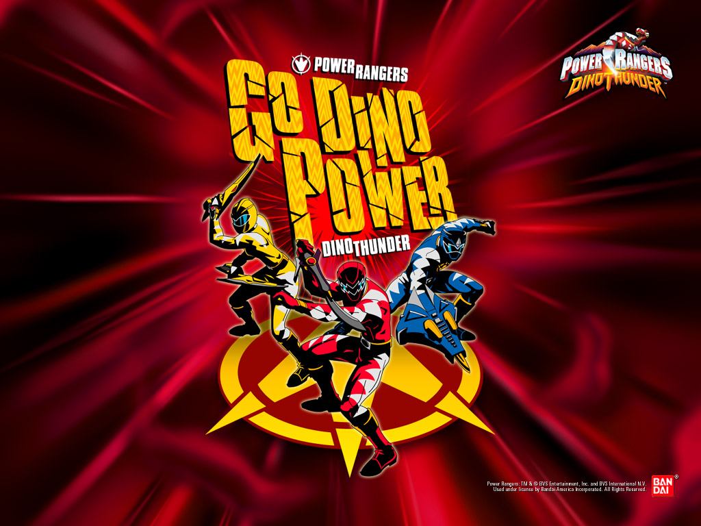 Movies Wallpaper: Power Rangers - Dino Thunder