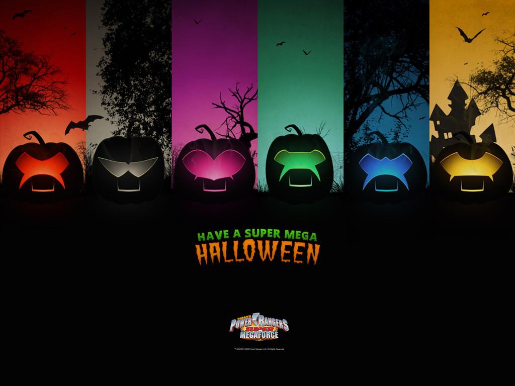 Movies Wallpaper: Power Rangers - Halloween