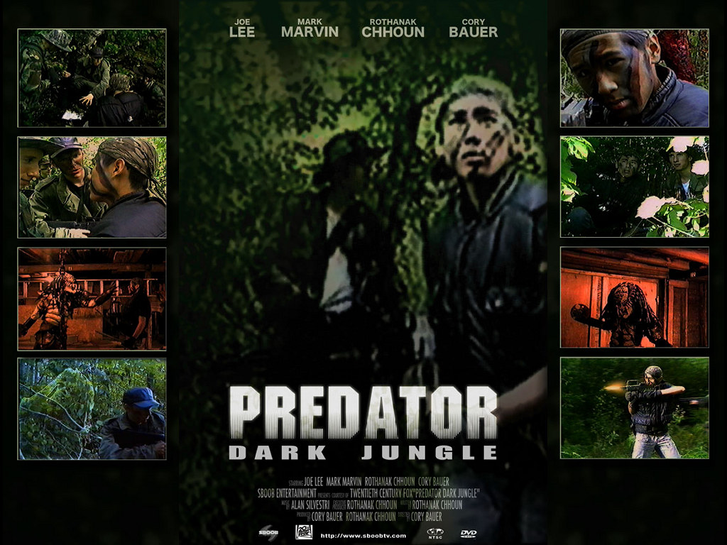 Movies Wallpaper: Predator - Dark Jungle