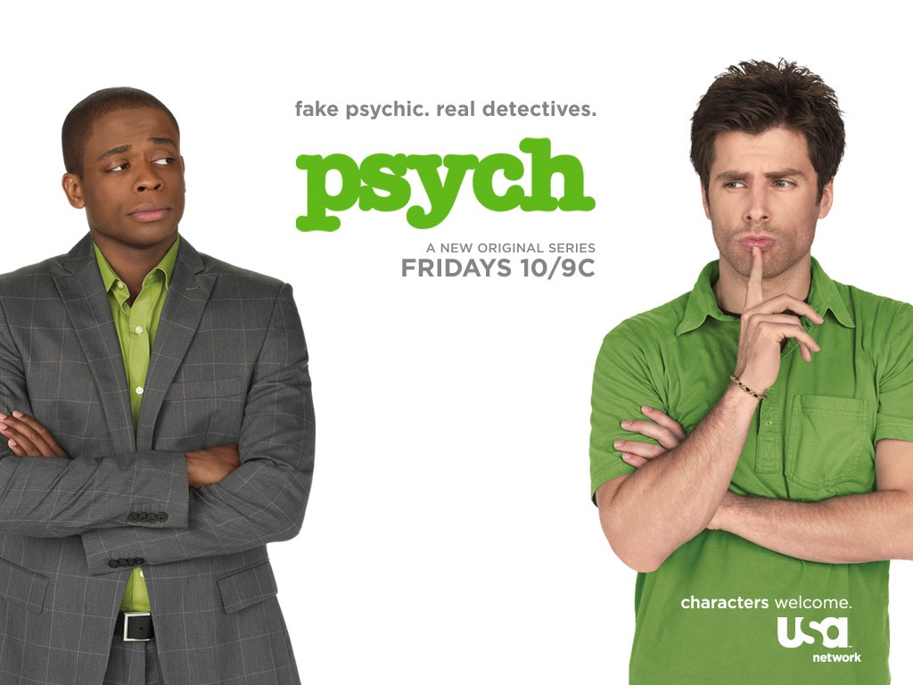 Movies Wallpaper: Psych