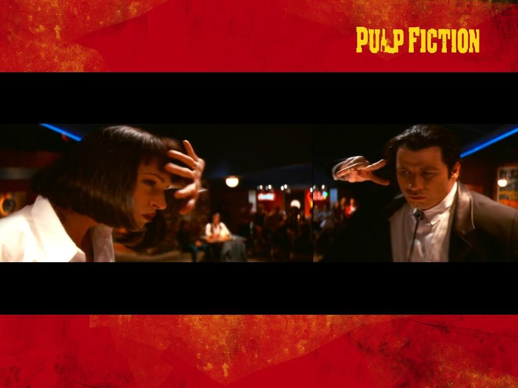 Movies Wallpaper: Pulp Fiction - the Dance Contest Scene