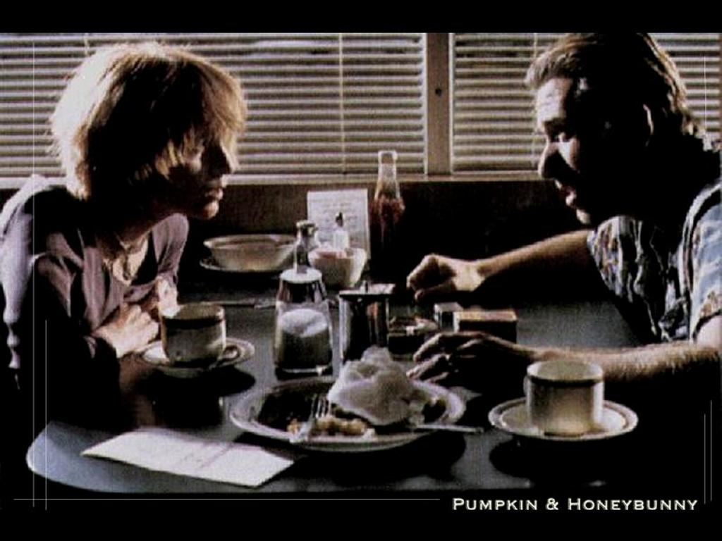Movies Wallpaper: Pulp Fiction - Pumpkin and Honeybunny
