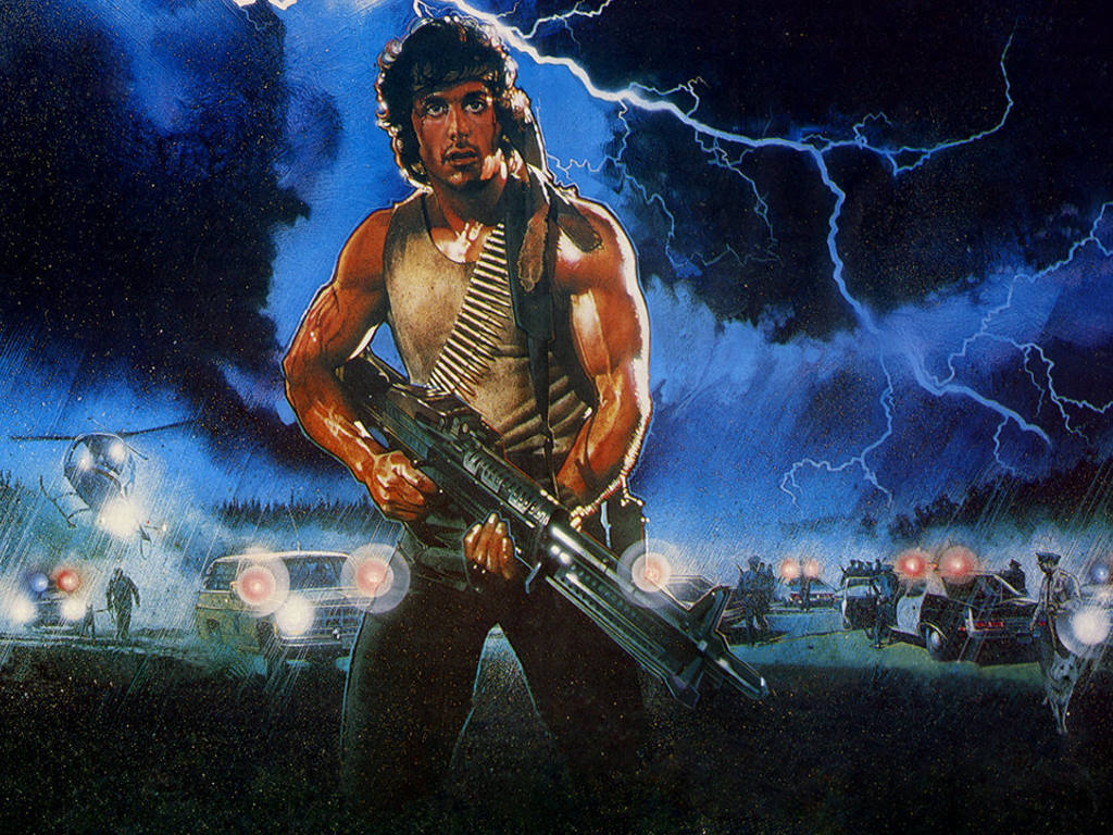 Movies Wallpaper: Rambo - First Blood