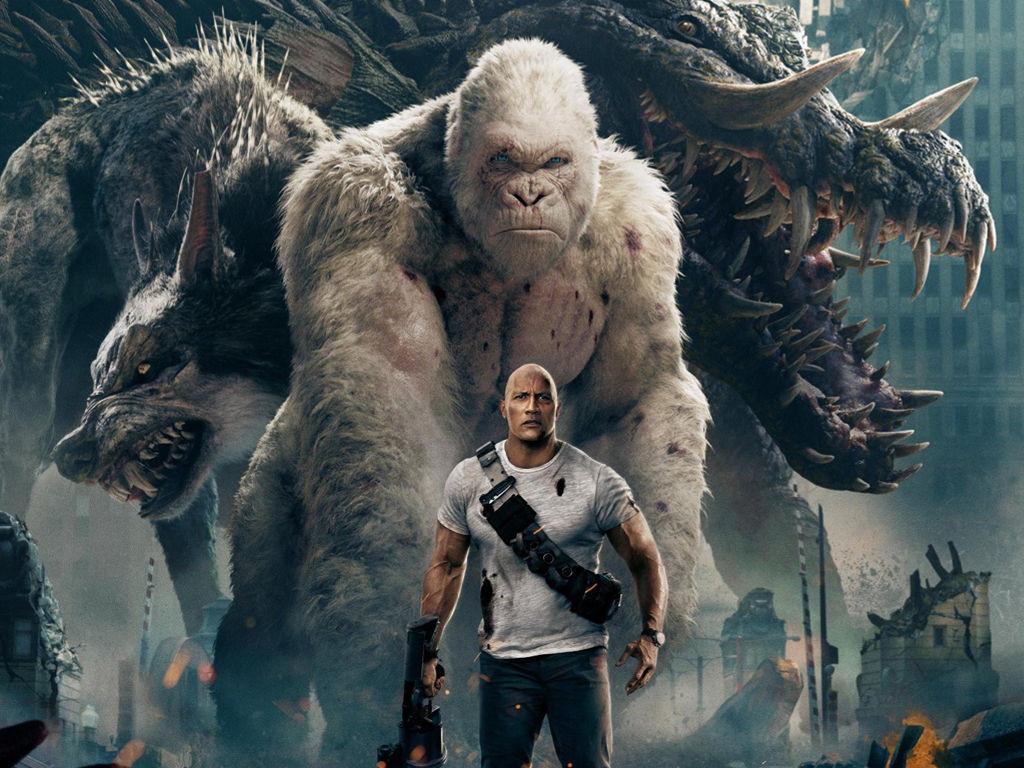 Movies Wallpaper: Rampage