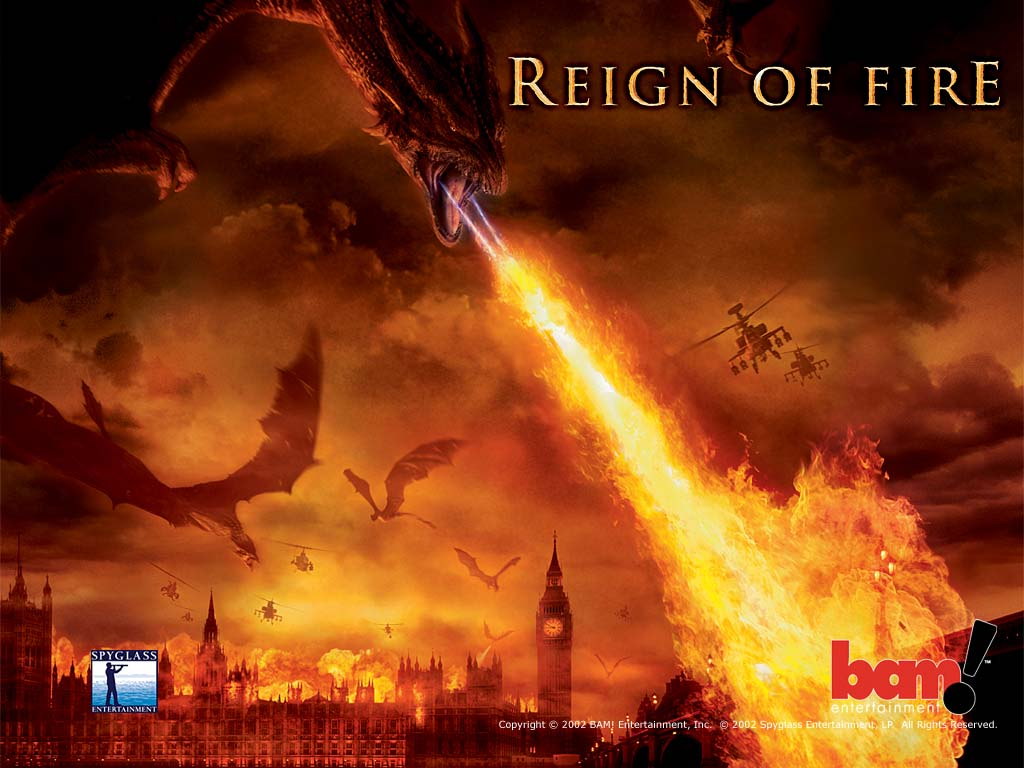 Movies Wallpaper: Reign of Fire