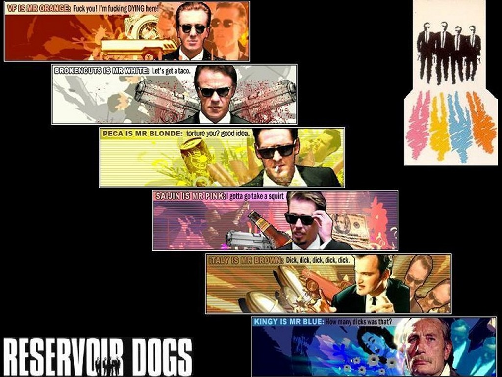 Papel de Parede Gratuito de Filmes : Cães de Aluguel