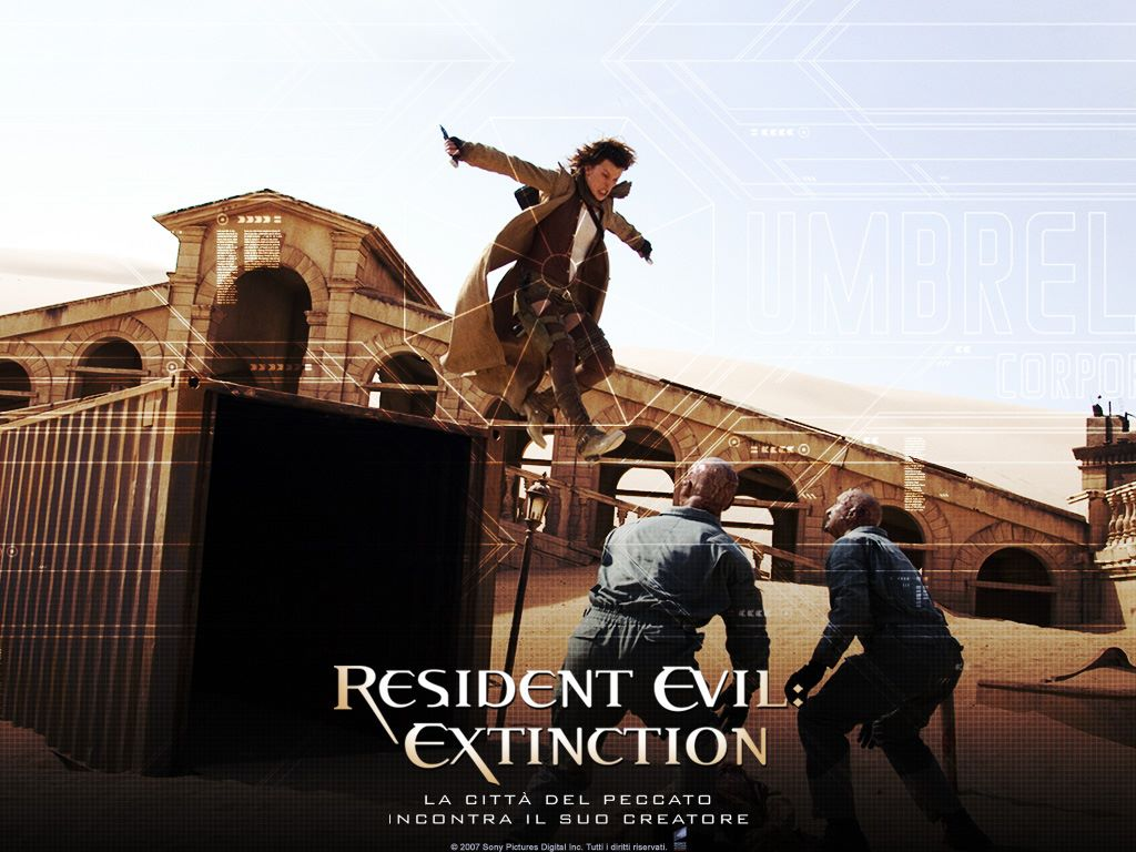 Movies Wallpaper: Resident Evil - Extinction