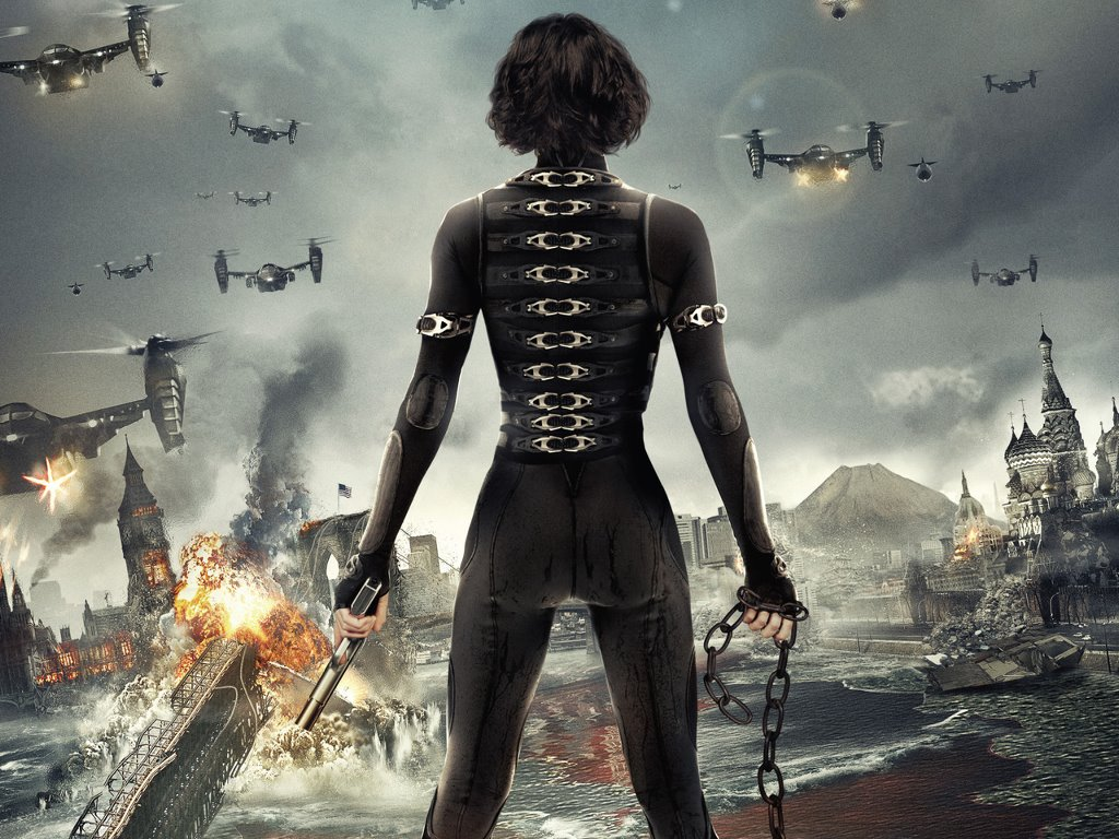 Movies Wallpaper: Resident Evil - Retribution
