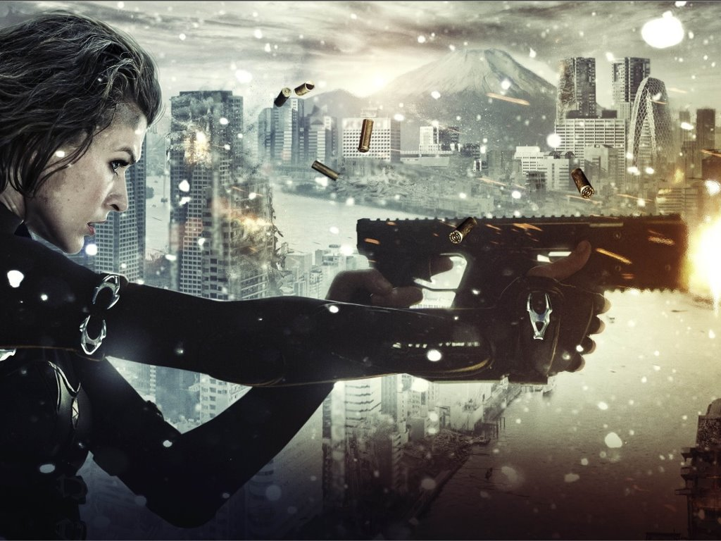Movies Wallpaper: Resident Evil - Retribution