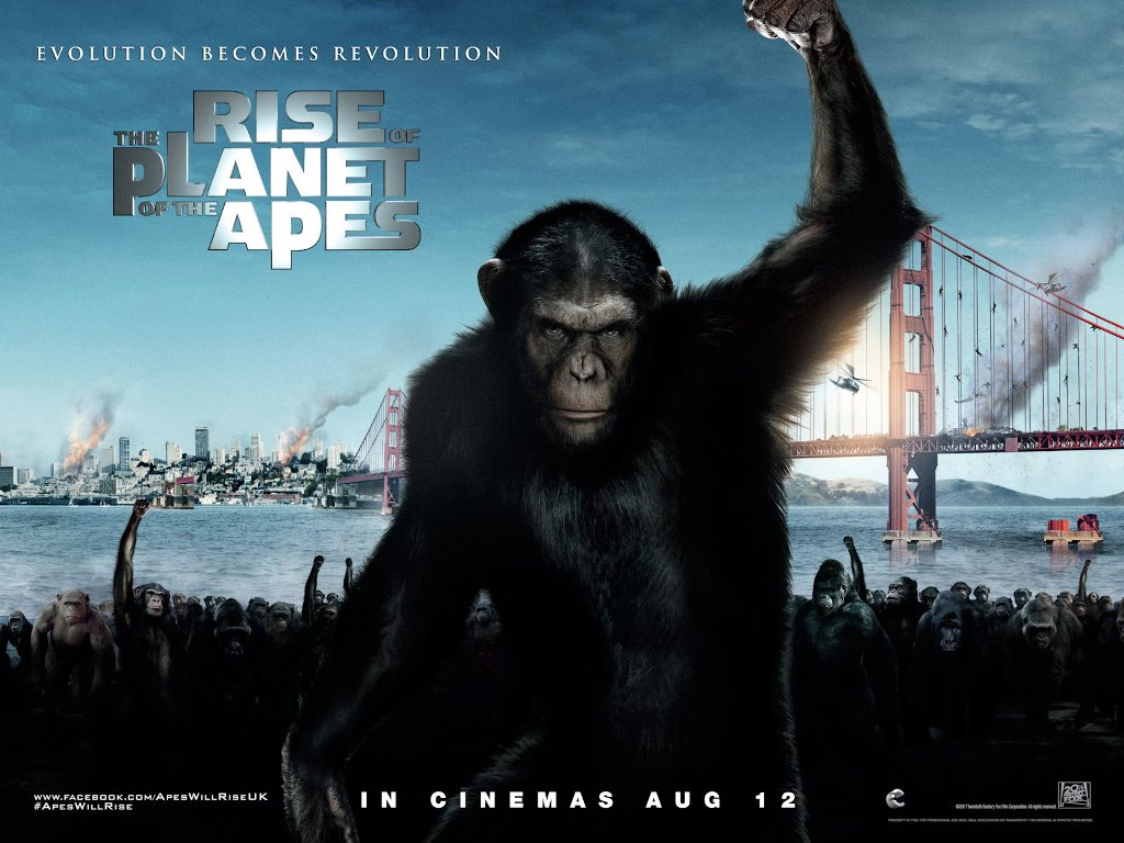 Movies Wallpaper: Rise of the Planet of the Apes