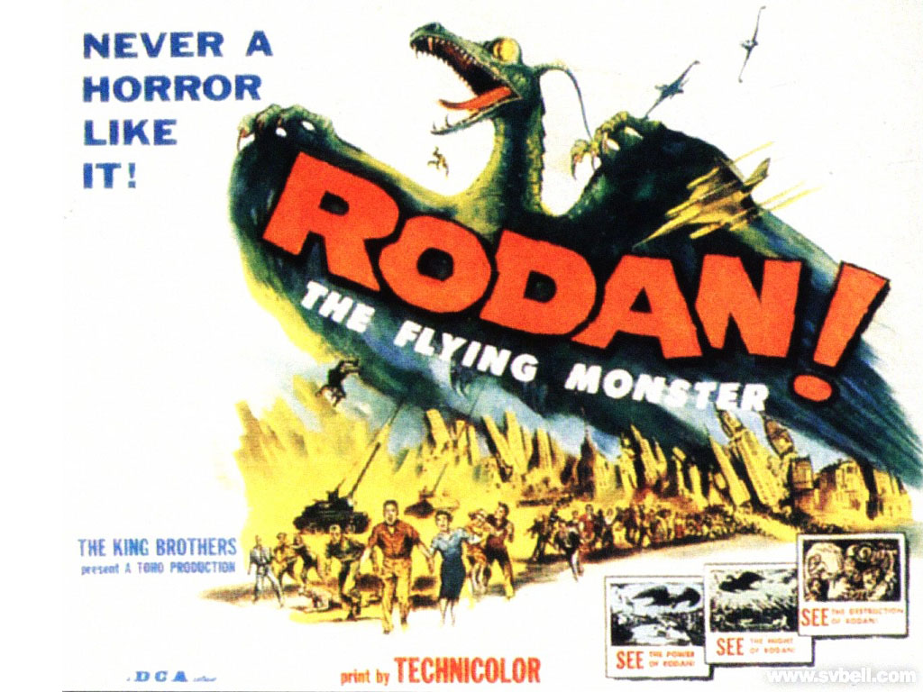 Movies Wallpaper: Rodan
