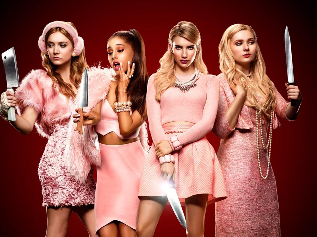 Movies Wallpaper: Scream Queens