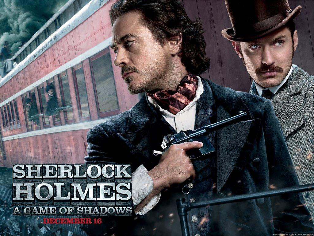 Movies Wallpaper: Sherlock Holmes - A Game of Shadows