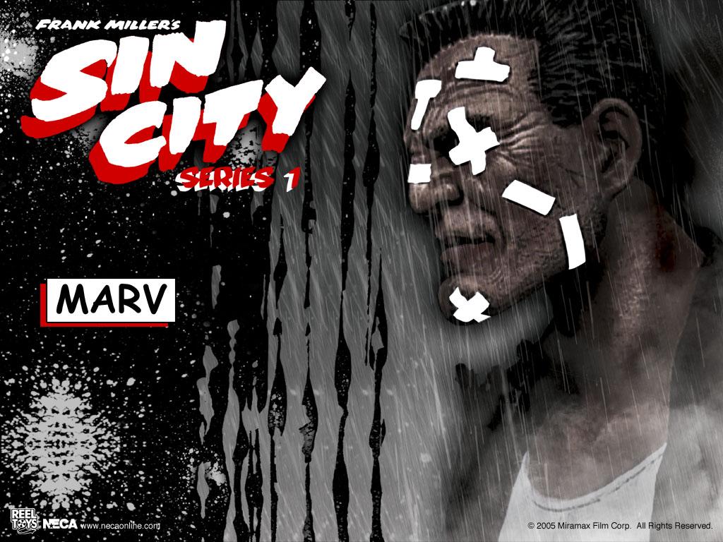 Movies Wallpaper: Sin City - Marv