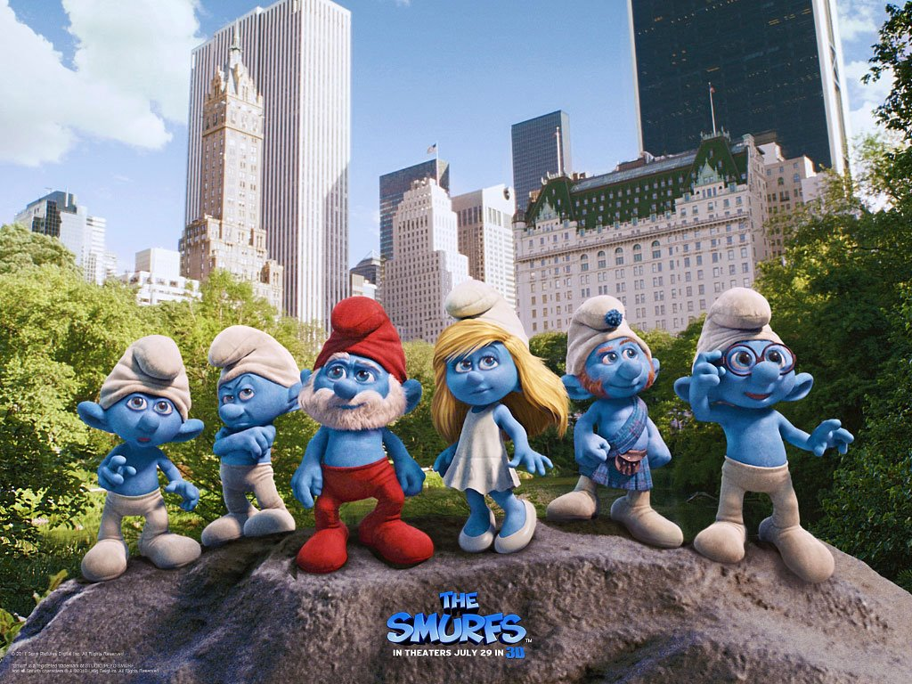 Movies Wallpaper: The Smurfs