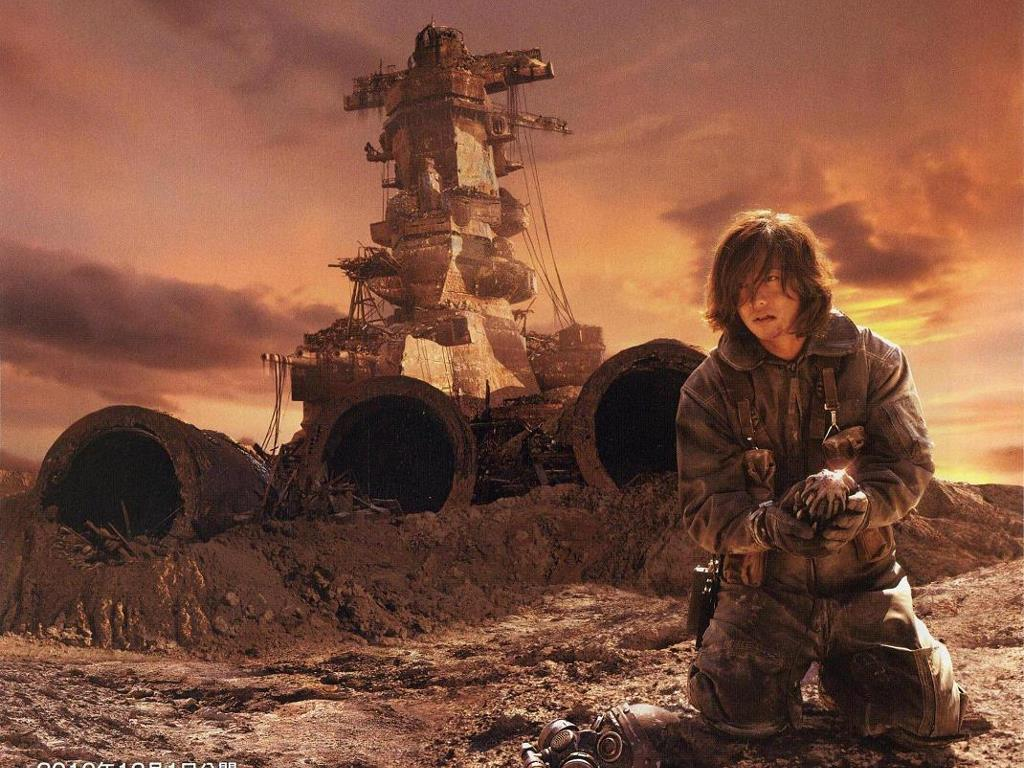 Movies Wallpaper: Space Battleship Yamato