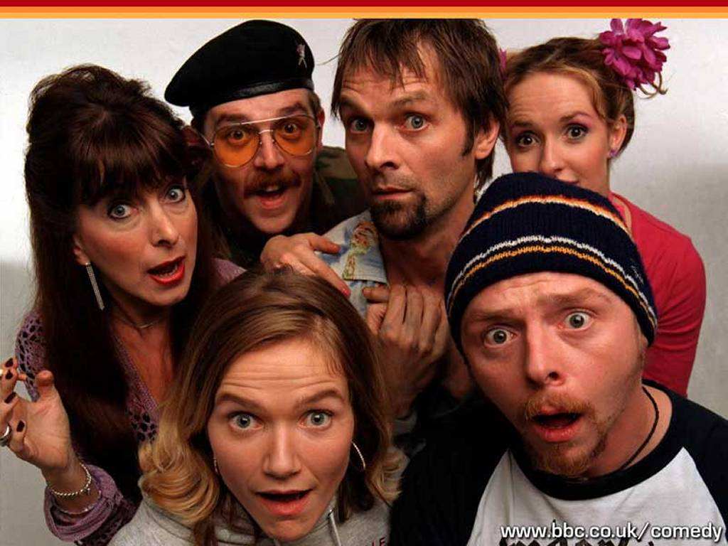 Movies Wallpaper: Spaced