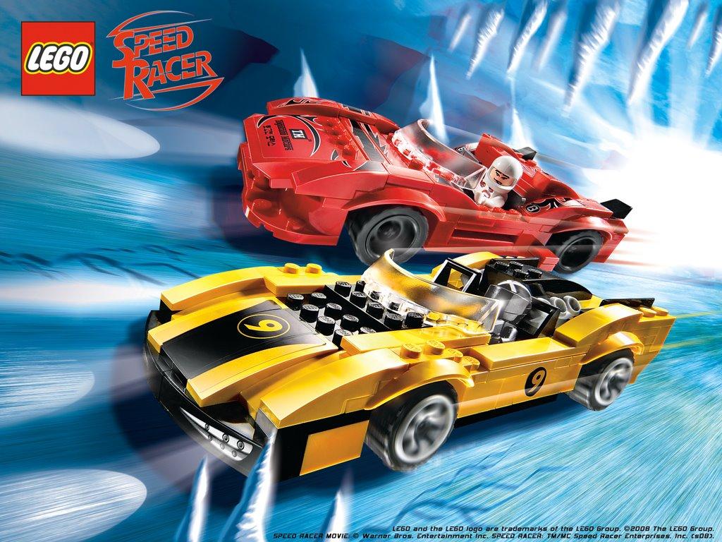 Movies Wallpaper: Speed Racer - Lego