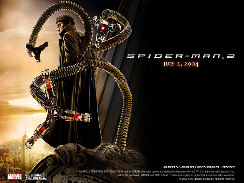 Movies Wallpaper: Spider-Man 2 - Octopus