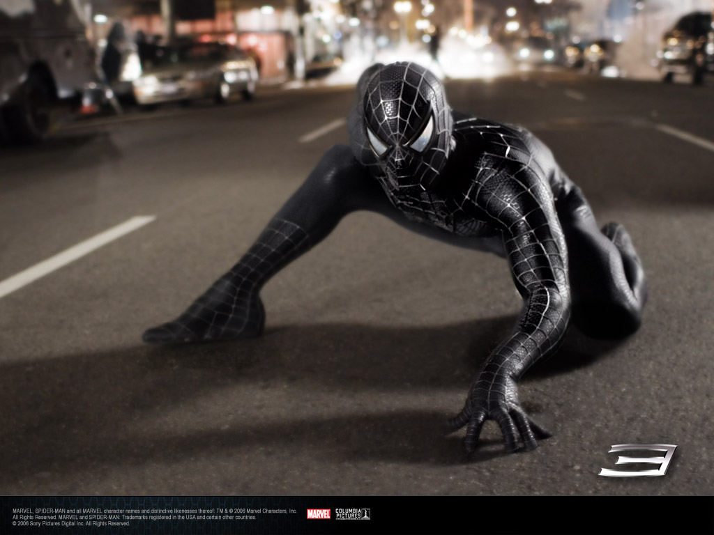 Movies Wallpaper: Spider-Man 3 - Black Suit
