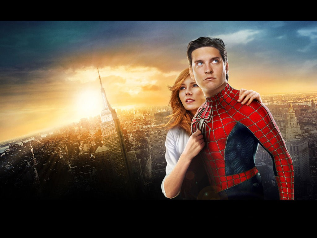 Movies Wallpaper: Spider-Man 3 - Peter and Mary Jane