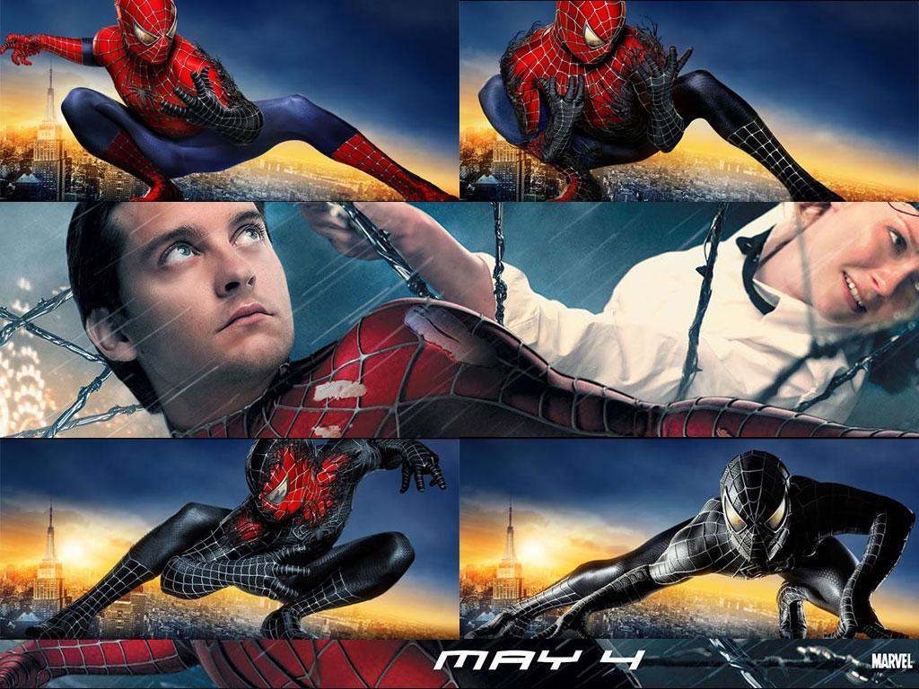 Movies Wallpaper: Spider-Man 3 - Transformation