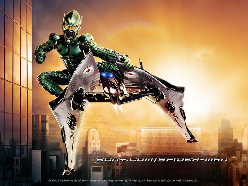 Movies Wallpaper: Spiderman - Green Goblin