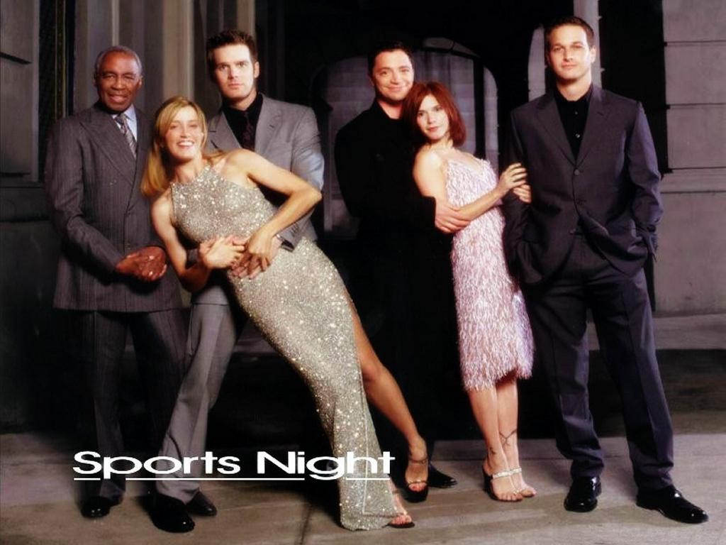 Movies Wallpaper: Sports Night