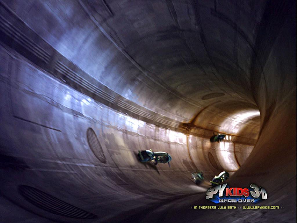 Movies Wallpaper: Spy Kids 3D
