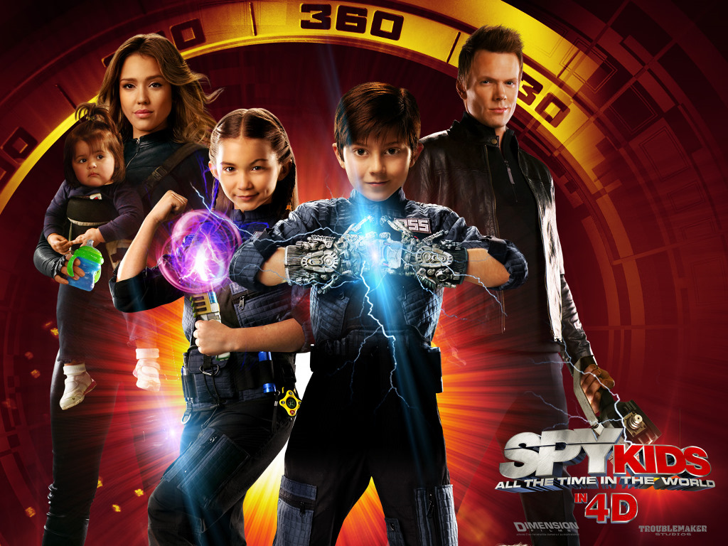 Movies Wallpaper: Spy Kids 4 - All the Time in the World
