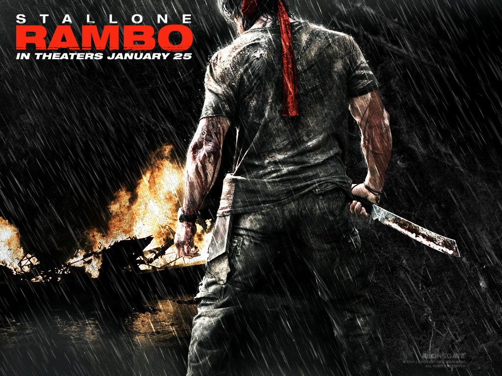 Movies Wallpaper: Rambo (2008)