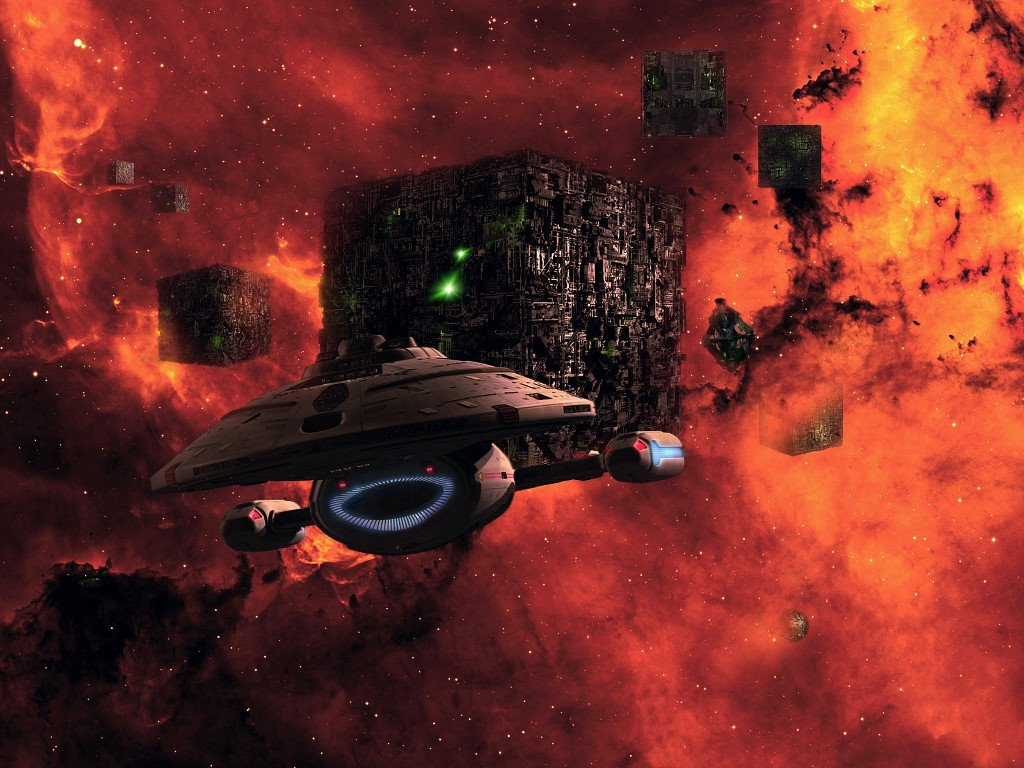 Movies Wallpaper: Star Trek - Borgs