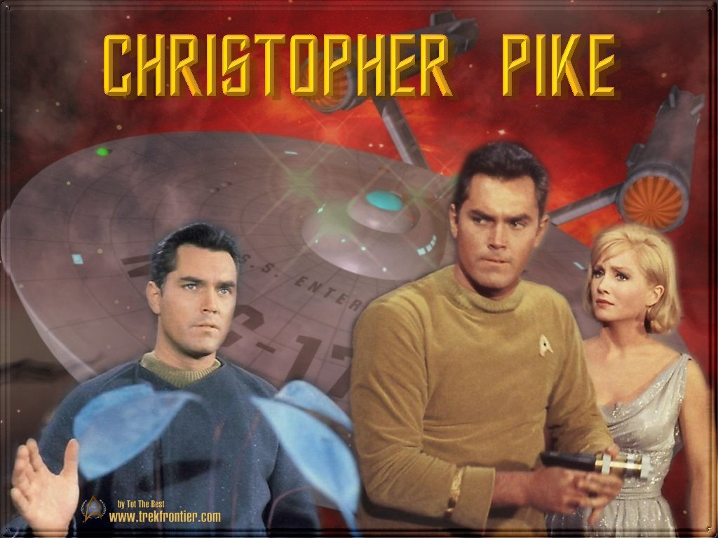 Movies Wallpaper: Star Trek - Captain Christopher Pike