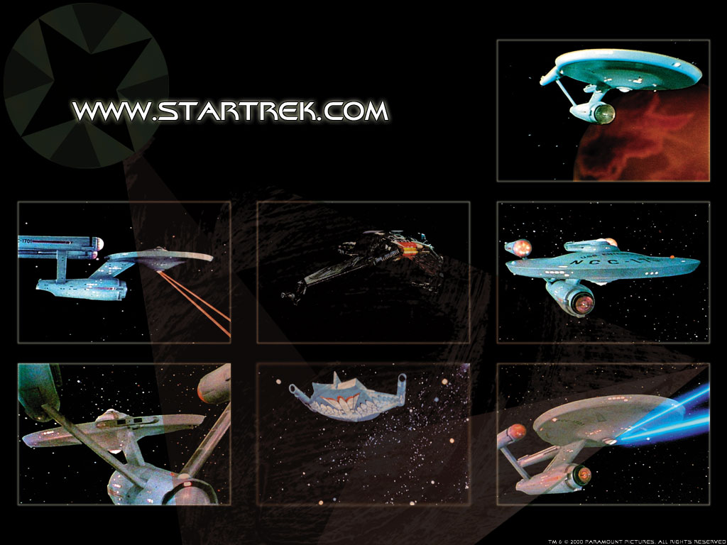 Movies Wallpaper: Star Trek - Ships