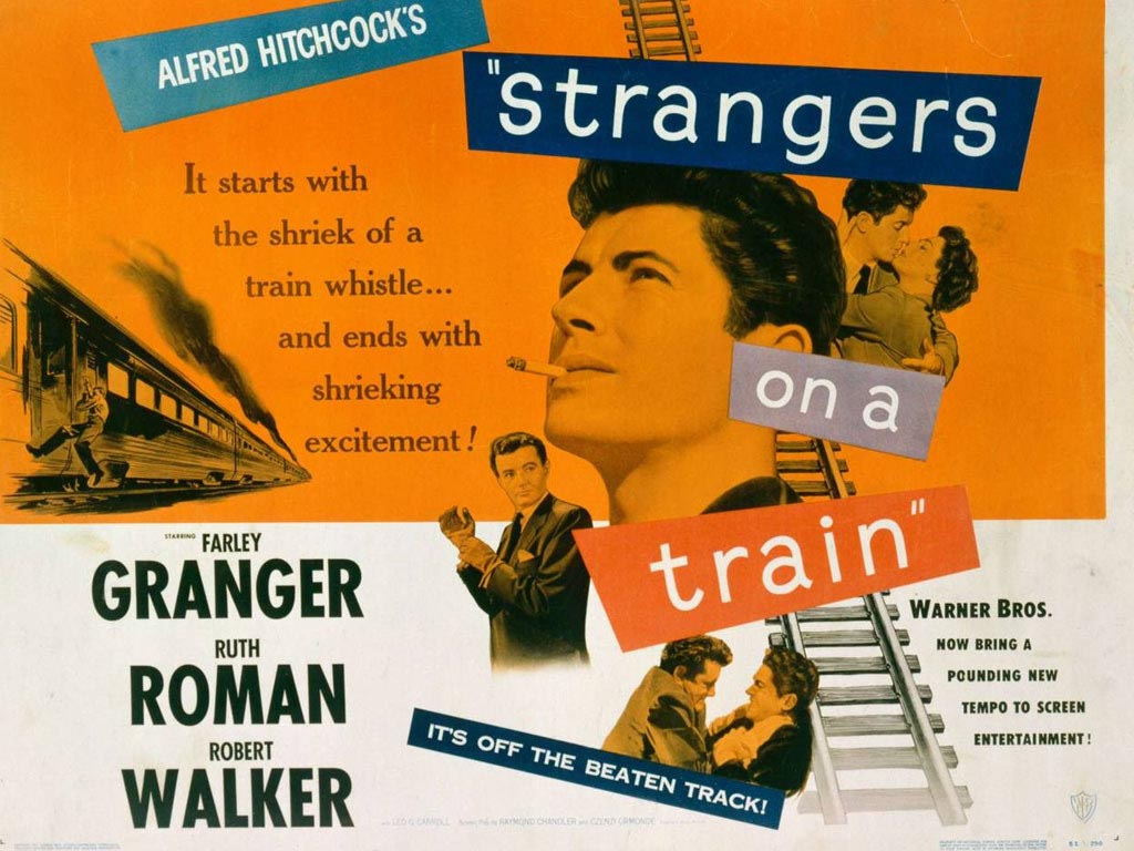 Movies Wallpaper: Strangers on a Train