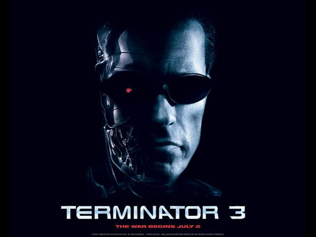 Movies Wallpaper: T3 - T800 Close Up