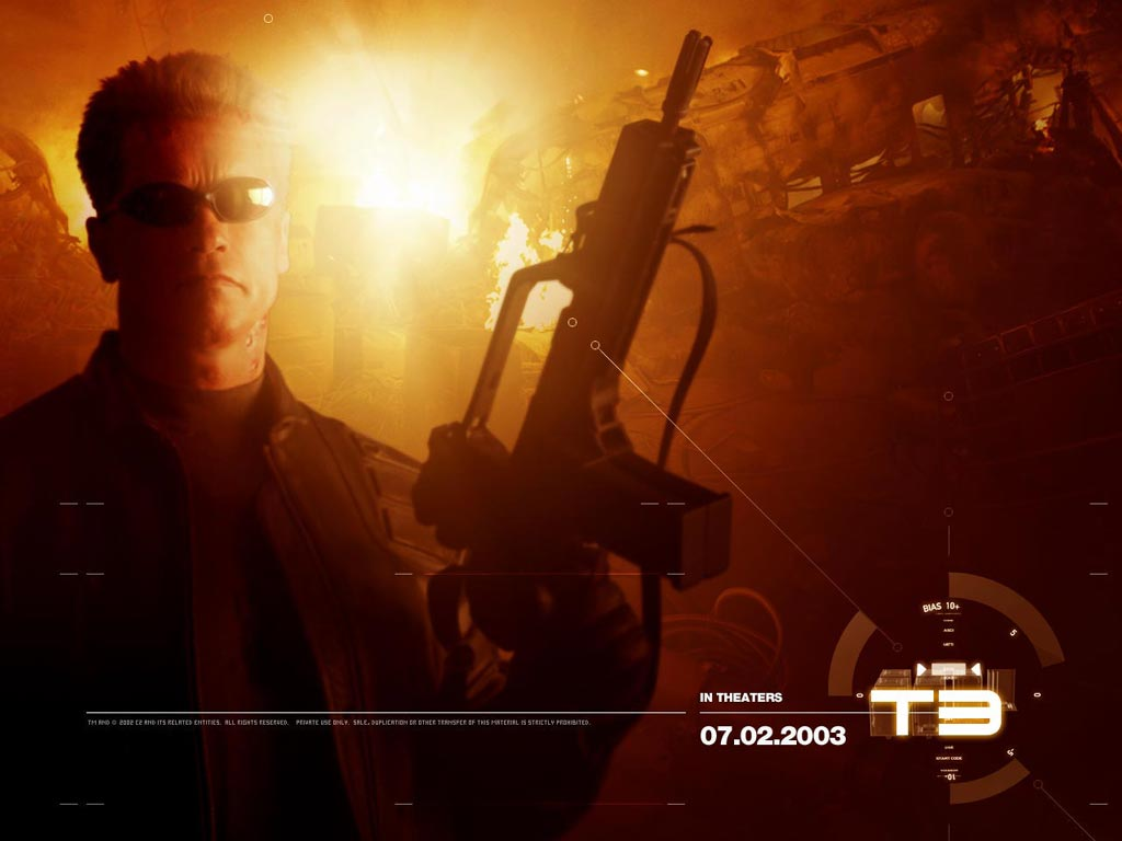 Movies Wallpaper: T3 - Terminator