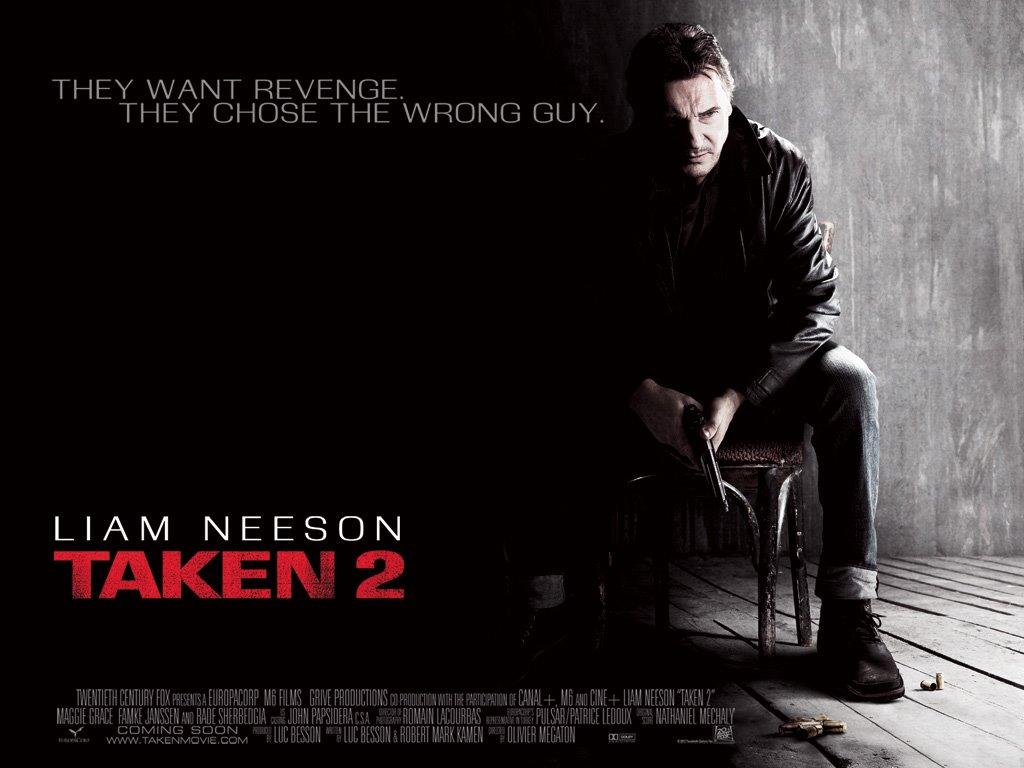 Movies Wallpaper: Taken 2