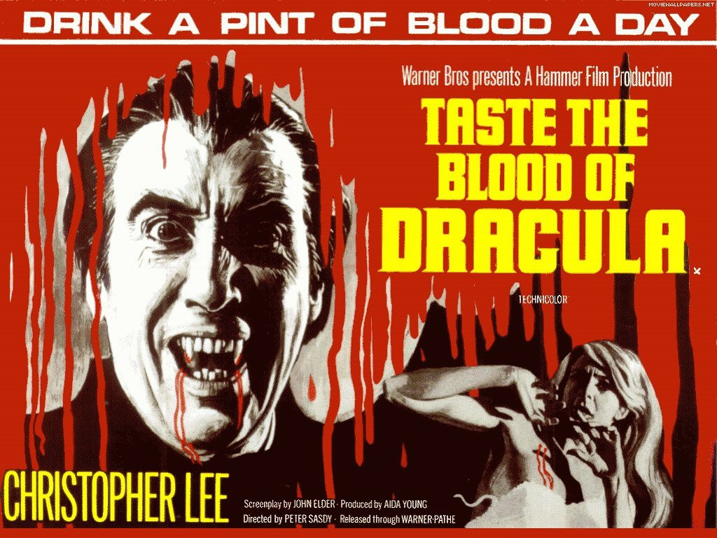 Movies Wallpaper: Taste the Blood of Dracula