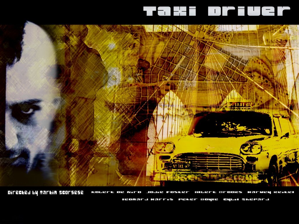 Movies Wallpaper: Taxi Driver - Collage