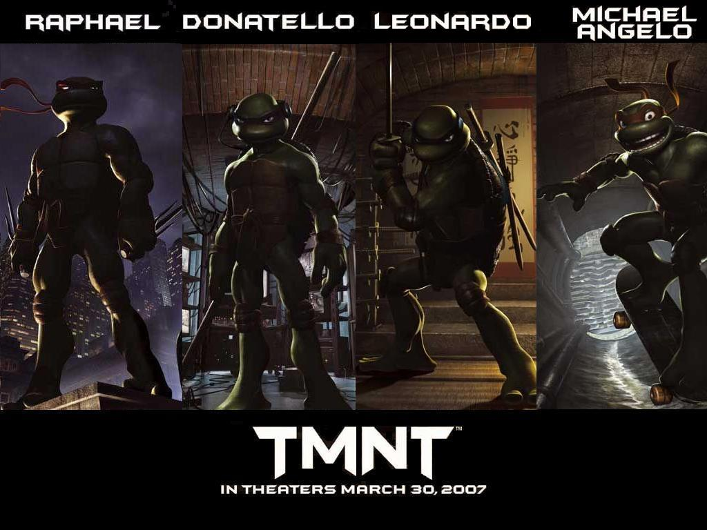 Movies Wallpaper: Teenage Mutant Ninja Turtles (2007)