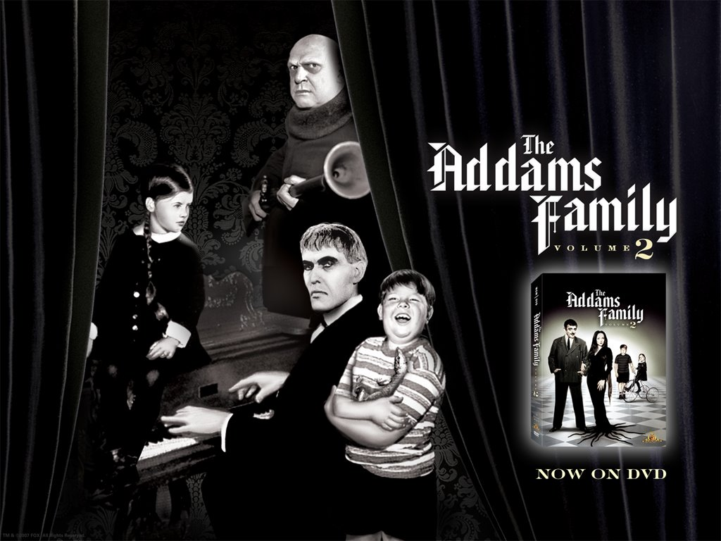 Movies Wallpaper: The Addams Family (Classic)
