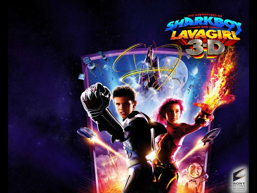 Movies Wallpaper: The Adventures of SharkBoy and LavaGirl in 3D
