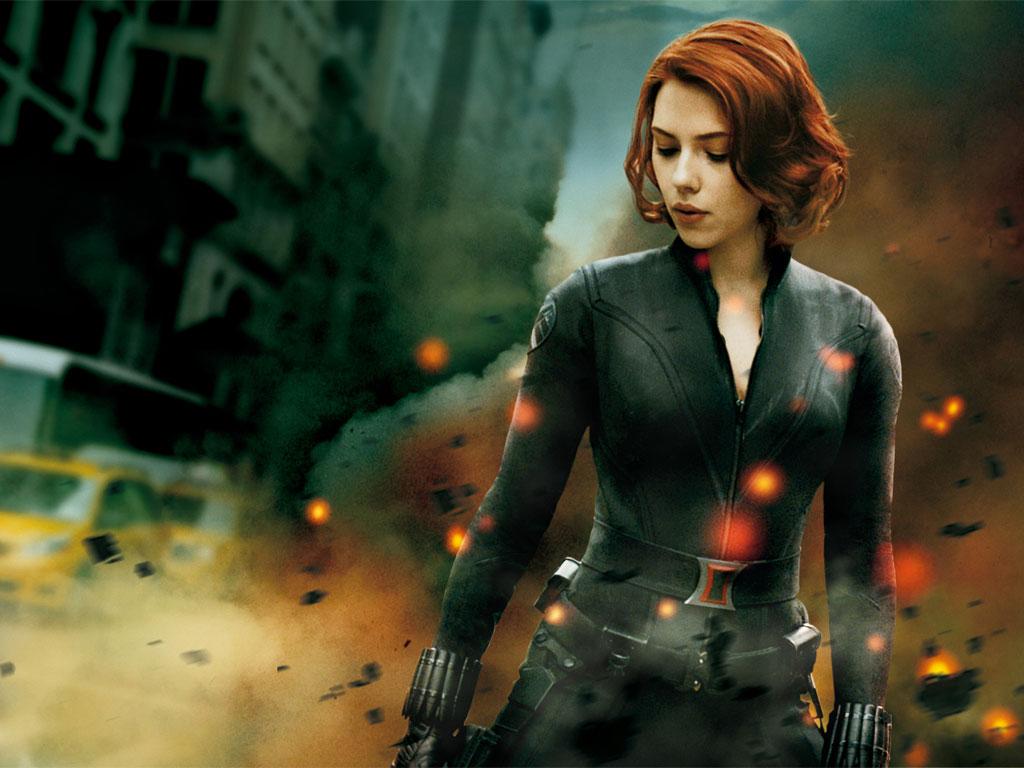 Movies Wallpaper: The Avengers - Black Widow