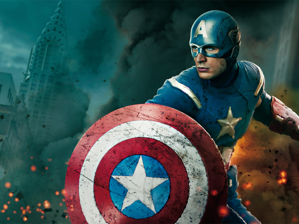 Movies Wallpaper: The Avengers - Captain America